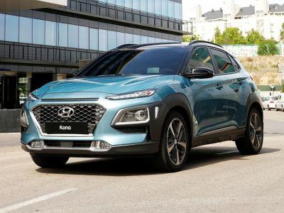 2018 Hyundai KONA SEL (Surf Blue)
