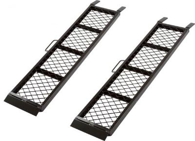 Sell PAIR 4' LONG DUAL STEEL ATV-UTV TRAILER UTILITY RAMPS-1600 LB (ST-4811-1600-MV2) motorcycle in West Bend, Wisconsin, US, for US $89.99