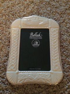 Belleek Claddagh Picture Frame-5x7-NEW!!!