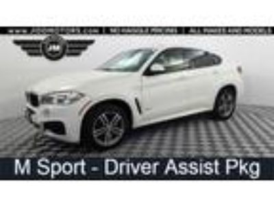 Used 2016 BMW X6 White, 40.1K miles