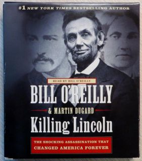 """""""KILLING LINCOLN"""" by Bill O'Reilly and Martin-Dugard - 6-CDs Audio Book"""