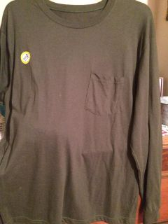 Nwt army green men s long sleeve top