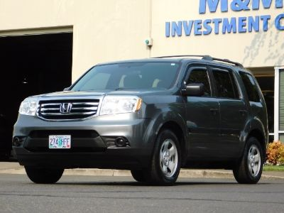 2013 Honda Pilot LX (Polished Metal Metallic)