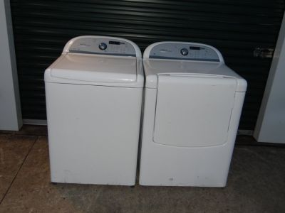 whirlpool Cabrio washer& dryer(free delivery)credit card accepted