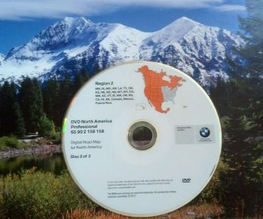 Purchase 158 BMW West 2011 Navigation DVD 2004-2009 525i 525xi 528i 528xi 530i 530xi 535 motorcycle in Colorado Springs, Colorado, US, for US $94.99
