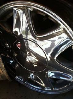 SET of Four Chrome Wheels