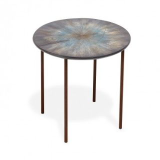 ABC mos design Side or Coffee Table Blue Ashes