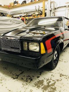 81 malibu badass street car