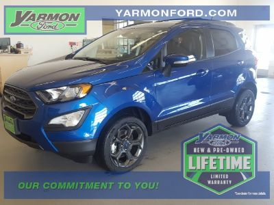 2018 Ford EcoSport SES (Lightning Blue Metallic)