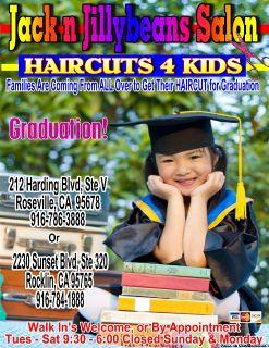 Graduation HAIRCUTS 4 Kids 786
