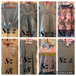 Size 2 Matilda Jane tops and dresses