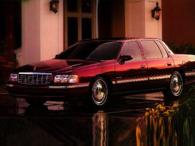 1998 Cadillac DeVille D'elegance (Red)