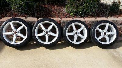 2014 Corvette Stingray Wheels and Tires