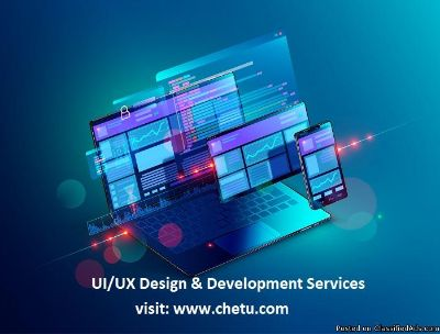 Custom UI/UX Design & Development Services
