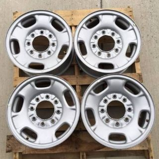 Chevy-GMC 8 Lug Factory Steel Wheels
