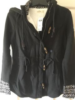Hollister Hooded Jacket Size Small