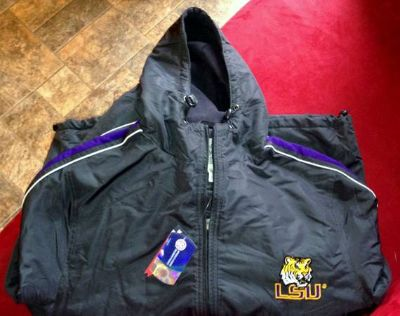 LSU JACKETHOODIE NEW WITH TAGS