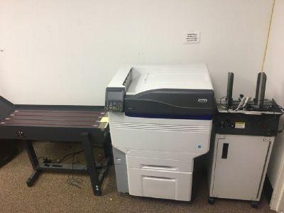 Oki 931 Envelope Printer w/Feeder & Conveyer RTR# 8093198-02
