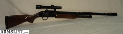 For Sale: Mossberg 500A 12ga Pump Shotgun w/ Scope #1198