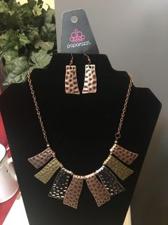 Brand new earrings and necklace set