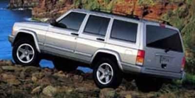 2000 Jeep Cherokee SE (White)