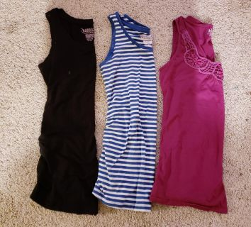 Size small maternity tops