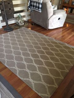 Room size area rug