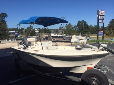 Mako 172 w/ an Evinrude 140hp and trailer