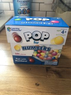 Pop for Numbers Learning Game