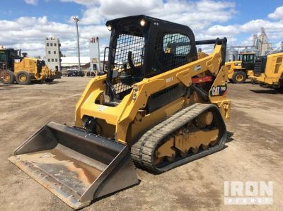 2017 Cat 259D Compact Track Loader