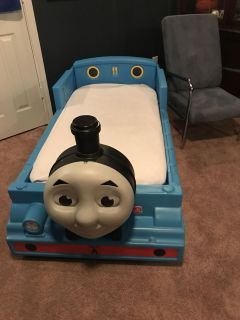 Thomas the Train toddler bed with mattress