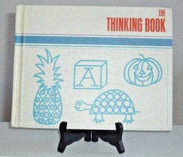 Extremely RARE Vintage 1970 The Thinking Book Adventures In Learning Encyclopaedia Britannica