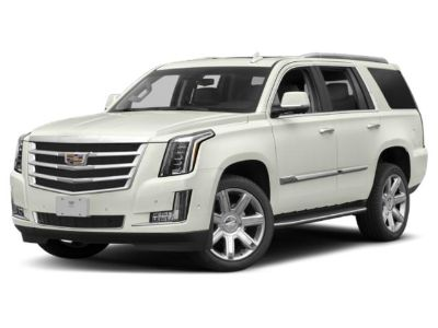2019 Cadillac Escalade Luxury 4WD (Crystal White)