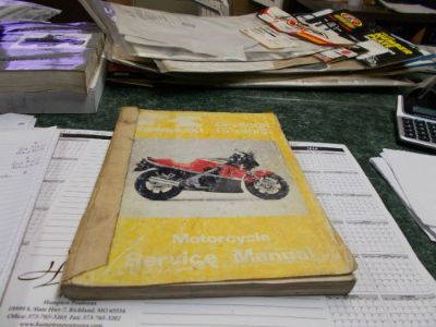 Sell KAWASAKI MOTORCYCLE SERVICE MANUAL motorcycle in Lebanon, Missouri, United States