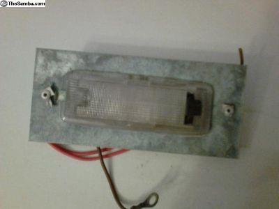 OG bay camper light w/ sheet metal bracket