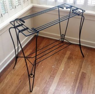 Metal Wrought Iron Wire Aquarium Stand Table Rack Shelf