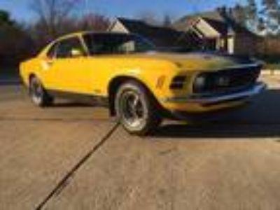 1970 Ford Mustang Mach 1 Original
