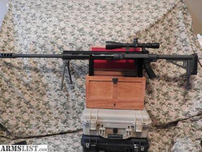 For Sale: Safety Harbor SHF/R50 mag fed .50 BMG rifle