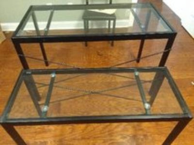 Glass Tables ( New)