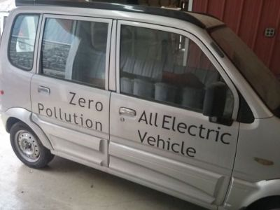 Purchase Miles ZX40 Zero Pollution All Electric Vehicle Parts Only motorcycle in Pikeville, Kentucky, United States, for US $1,200.00
