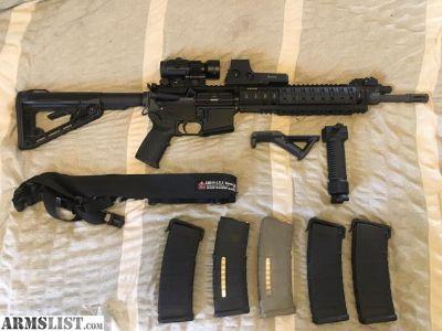 For Sale: Ruger SR556 Piston AR-15