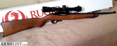 For Sale: Ruger 10/22 new with scope