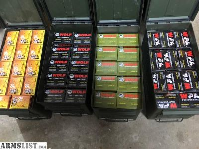 For Sale: Wolf 7.62x39 Ammo