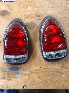 68-69 Bug Tail light assemblys R&L