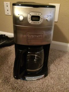 Cuisinart grind and brew coffee maker