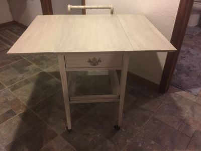 Table Cart Shabby Chic Tea Trolley or and Mini Bar??