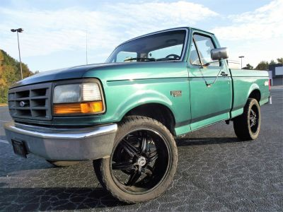 1996 Ford F-150 XLT (Green Or Teal)