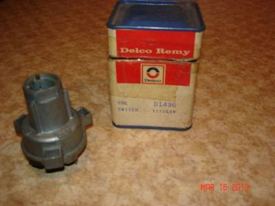 Buy 1967 67 NOS PONTIAC FIREBIRD HO DELCO REMY IGNITION SWITCH IN OLD GM BOX 1116658 motorcycle in Louisville, Ohio, United States, for US $125.99
