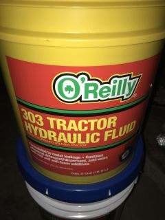303 Tractor Hydraulic Fluid.... brand new!!! *great pice*