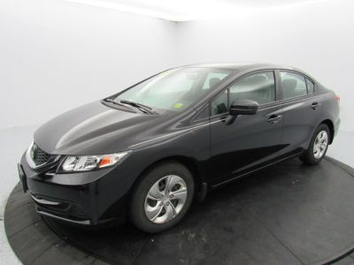 2015 Honda CIVIC SEDAN 4dr CVT LX (Crystal Black Pearl)